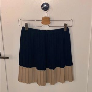 Club Monaco Pleated Mini Tutu Skirt